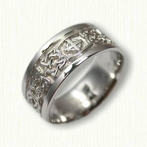 17 best images about custom religious wedding bands on