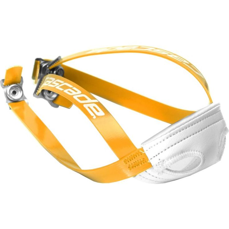Cascade Lacrosse Helmet Chin Strap, Athletic Gold