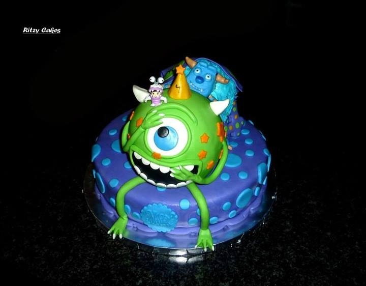 Sully Cupcakes, Monsters Inc Cupcakes And Monster Co Uk