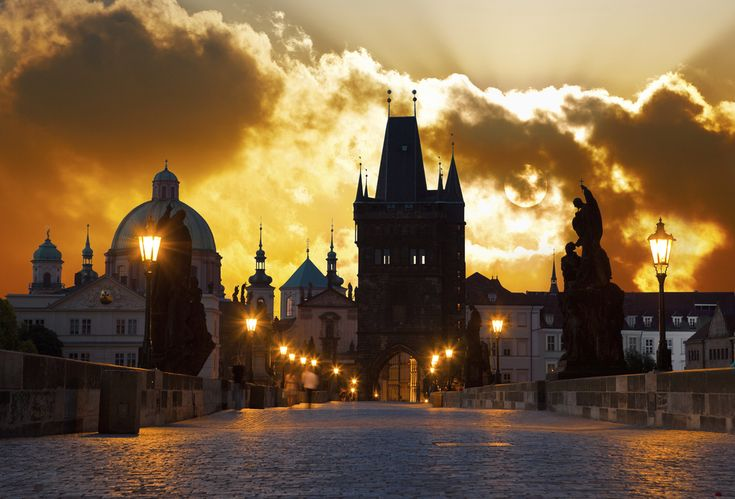 And it's even prettier at night. | 27 Pictures That Prove The Czech Republic Will Be The Most Beautiful Place You Ever Visit