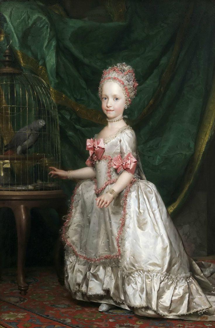Менгс, Антон Рафаэль (1728 Ауссиг - 1779 Рим) Герцогиня Мария Тереза Австрийская  Музей Прадо