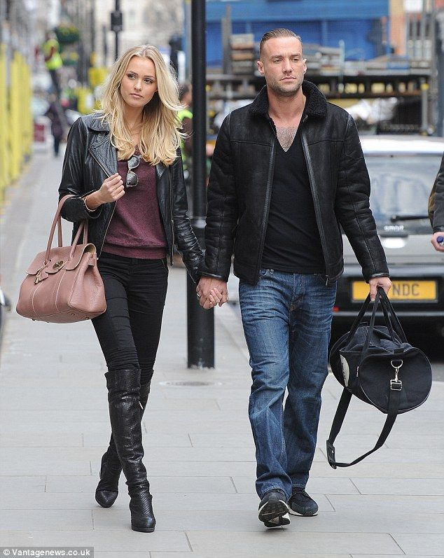 Rose Cochrane-Stack and Calum Best..