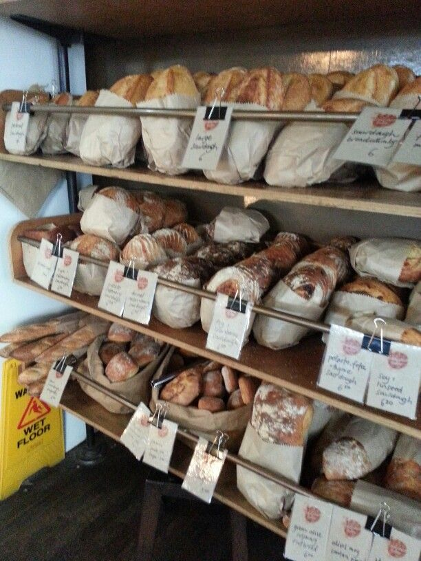 Delicious fresh bread bakery... on the way to the markets...