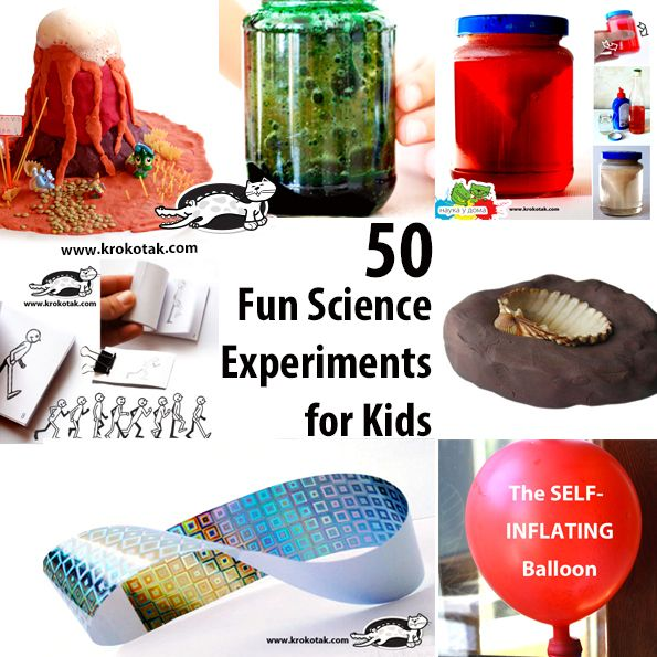 50 Fun Science Experimentsfor Kids