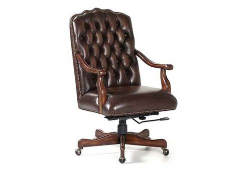 Johnson Swivel Tilt Leather Chair By Randall Allan Is A Part Of Randall  Allan Furniture Collection.
