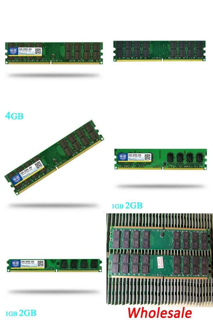 [Visit to Buy] Brand Xiede Sealed DDR2 800 / PC2 6400 5300 4200 4GB 2GB 1GB Desktop RAM Memory compatible with DDR 2 800 667 533MHz PC RAM #Advertisement