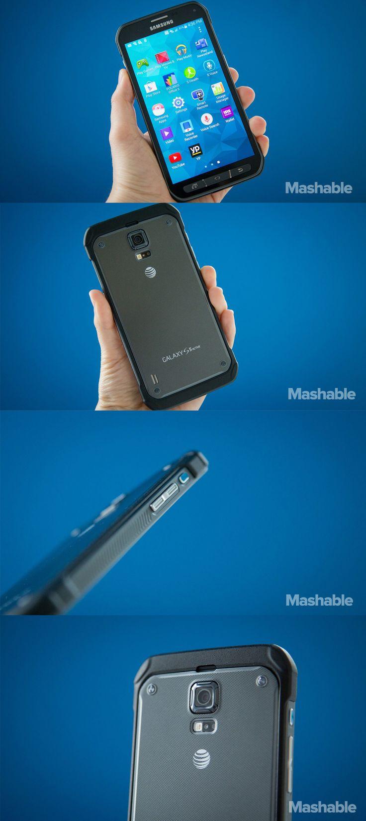 The Samsung Galaxy S5 Active.
