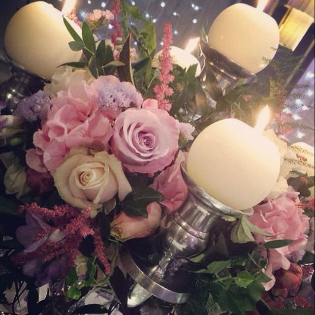 Love this pic, gorgeous ball candles!