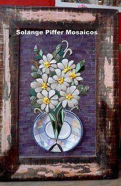 Mosaic dog by Solange Piffer - Поиск в Google