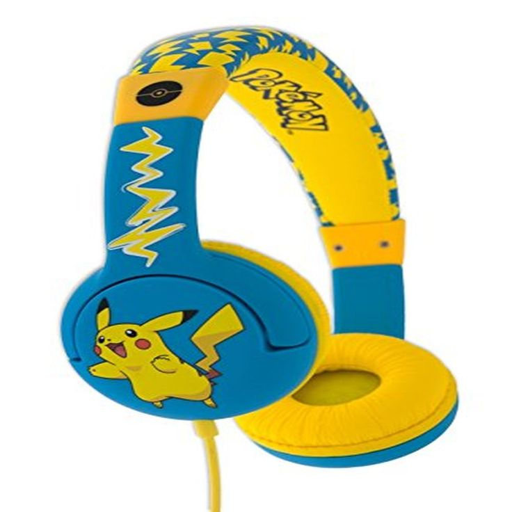 Children's Headphone Pokemon PIKACHU OTL for ages 3-7 Years #ChildrensHeadphonePokemon