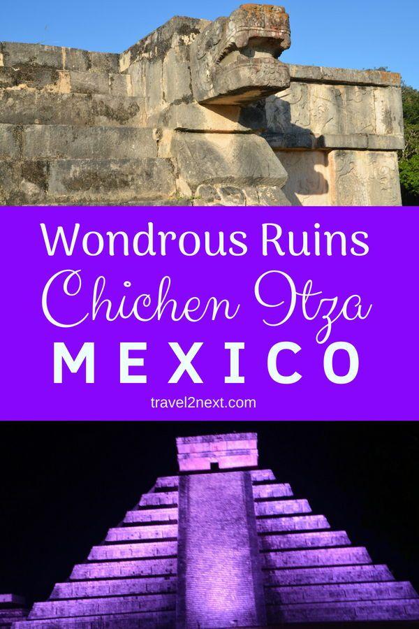 World Heritage wonders of Chichen Itza in the Yucatan province in south-eastern Mexico. #mexico #chichenitza #sevenwonders #travel #elcastillo