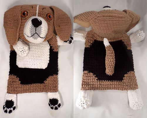 """The 32nd Dog Breed Blankie Buddy is this pint-sized tenacious hunter. They are about 13-15 inches tall and a very old breed. Beagles, in their very early form, came to England with William the Conqueror. The first mention of the Beagle by name in English literature dates from c. 1475. The name Beagle is believed to be a mix of the Gaelic word beag meaning """"small,"""" and the French word beugler, meaning, """"to bellow."""" A 'Small Bellower' is a pretty accurate description for these cute little…"""