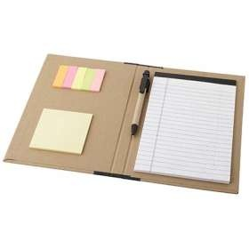 #Promotional Notepad and Pen Folio Sets come with a choice of 4 coloured spines with matching coloured pens. From £1.78.