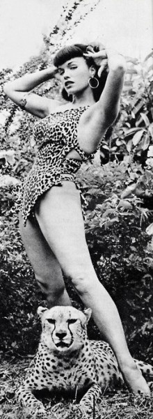bettie page - beauty before photoshop