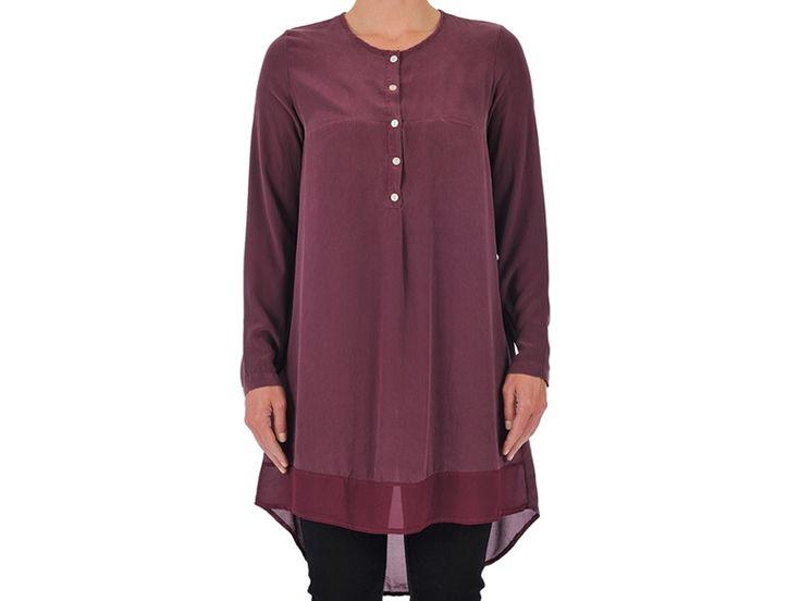 Het zijde bloes jurkje van B.yu nu met 50% korting! #byu #silk #fashion #sale #design #weidesign #haarlem #weidesignandmore #hipshopshaarlem