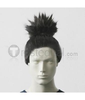 Naruto Nara Shikamaru Black Cosplay Wig - Naruto Cosplay - Anime Cosplay Hairpiece - Trustedeal.com
