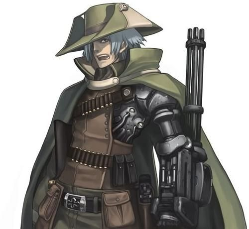 Anime Cyborg Fighter | Advanced Anime - Image Galleries - Picture 320686