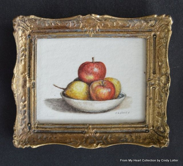 """Apples Still Life"" - An Original Watercolour by Cindy Lotter"