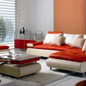 Die besten 25+ Red leather sectional Ideen auf Pinterest | Leder ...