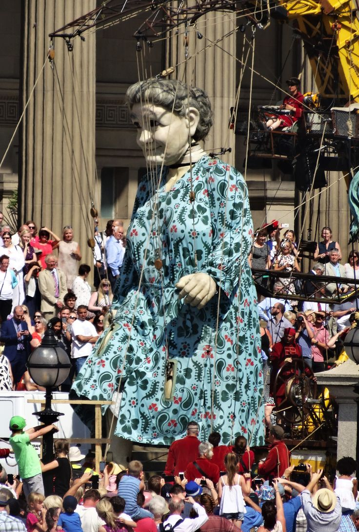 The Giant Grandmother Liverpool