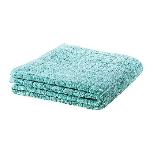 IKEA - ÅFJÄRDEN, Gastendoekje, 30x50 cm, , Een extra dikke, zachte handdoek van badstof met een hoog absorptievermogen (600 g/m²).De lange, fijne vezels van het gekamde katoen geven een zachter en steviger handdoek.