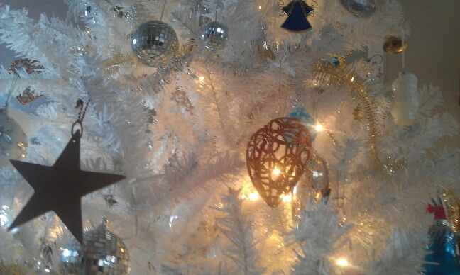 Ornaments on my Christmas tree. Ambience