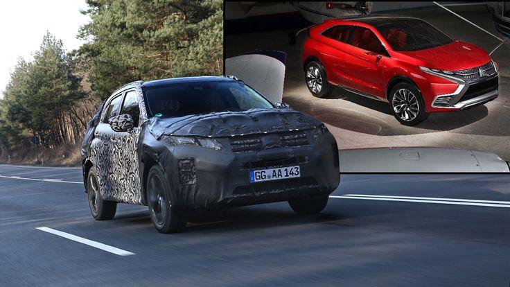 Exlusiv: Eclipse Cross - BILD fährt das neue Mitsubishi-SUV