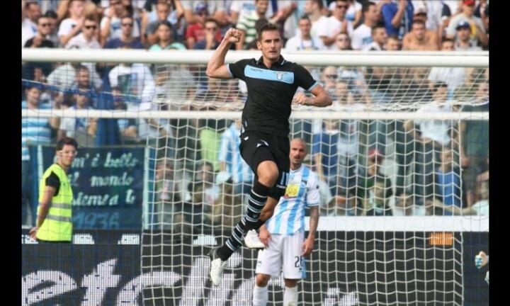 Excelente victoria y goleada a domicilio contra el Pescara #sslazio