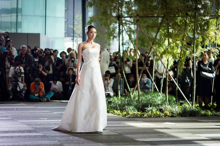 Токийская неделя моды: элегантный шик Hanae Mori, hanae mori manuscrit, wedding, wedding fashion, wedding dress, japanese wedding dress, fashion, japanese fashion, fashion show, yu amatsu