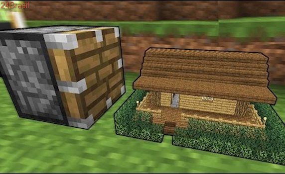 MICRO CASA VS. PISTÃO (SMALLEST HOUSE VS. PISTON MINECRAFT)