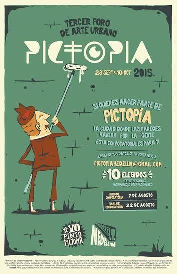 Convocatoria abierta artistas urbanos!! Pictopia 2015
