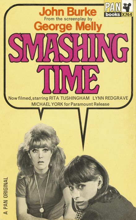 Smashing Time | cover girls Lynn Redgrave & Rita Tushingham | John Burke from the screenplay by George Melly