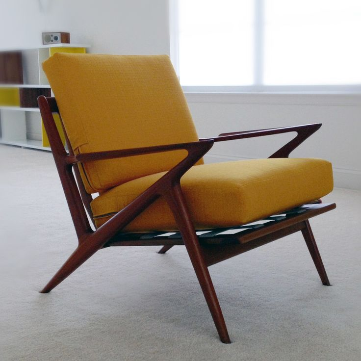 midcentury modern z chair photograph by lisa