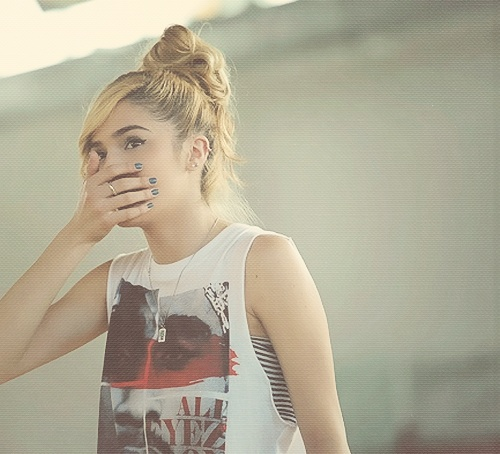 Chachi Gonzales <3 her! She's amazing. We even share the same birthday and age. We're meant to be best friends heehee