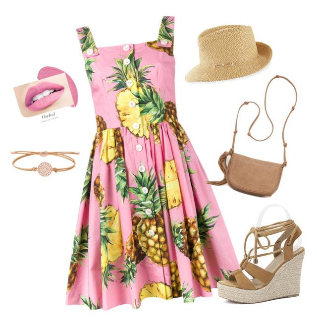 Shopping & lunch in the Rocks - Sydney, on a summers day by lorainejh on Polyvore featuring polyvore, fashion, style, Dolce&Gabbana, Red Camel, FOSSIL, Eric Javits and clothing