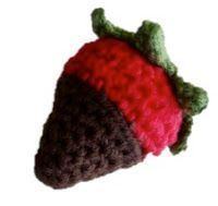 Free Pattern Chocolate Covered Strawberry