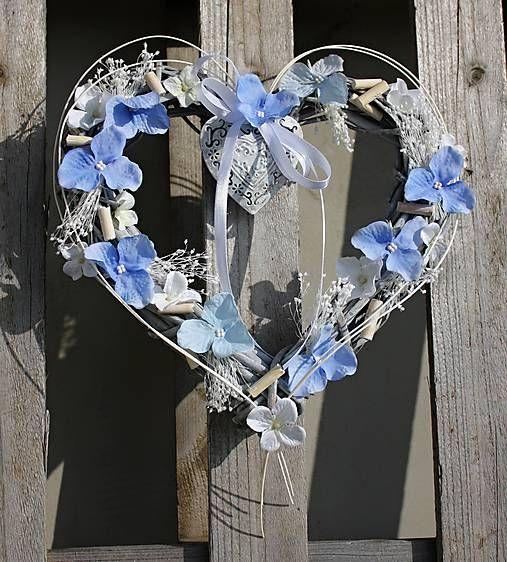 evafleur / Modré srdce
