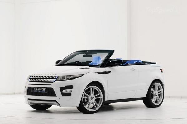 Range Rover Evoque Convertible.... My next car