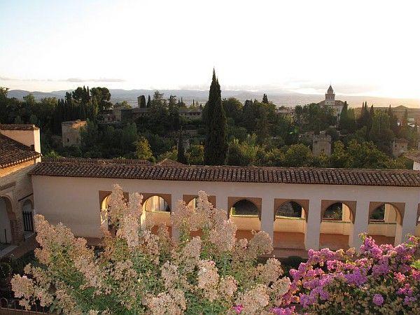 Grenade et le jardin arabo-andalou de l'Alhambra, Espagne, septembre 2009 ; Photographe Alexandra Duchêne / ©Musée du Vivant-AgroParisTech
