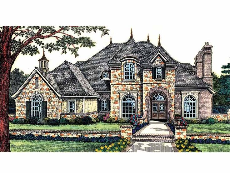 Front Elevation French : Best images about new lubbock texas residence