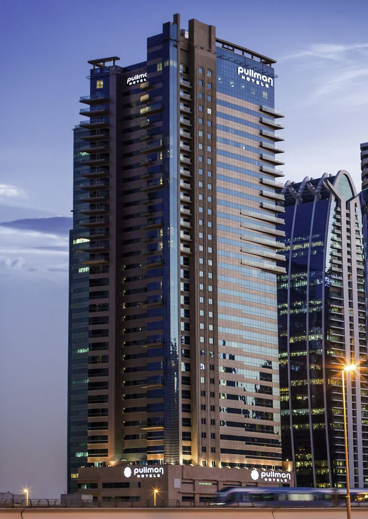 The Pullman Jumeirah Lakes Towers Hotel & Residence is one of the many incredible skyscrapers of #Dubai. #UAE