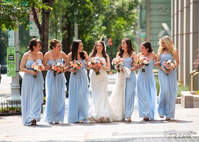 2019 Weddings Bridesmaid Dresses Blue Bridesmaid Gowns Wedding Wedding Styles