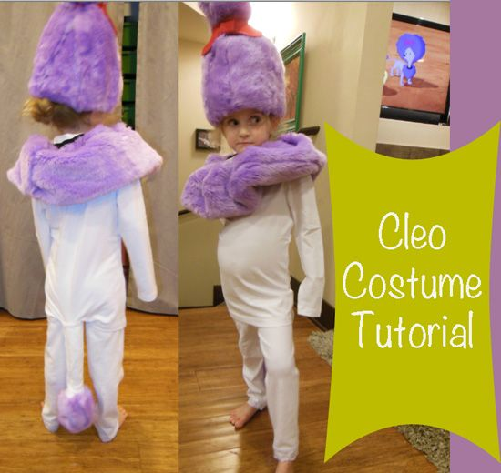 cleo costume from clifford the big red dog tv show cartoon halloween diy make - Clifford The Big Red Dog Halloween Costume