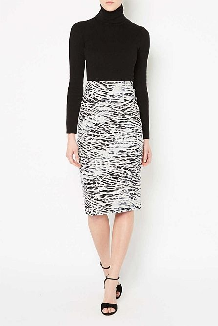 Printed Tube Skirt - Witchery