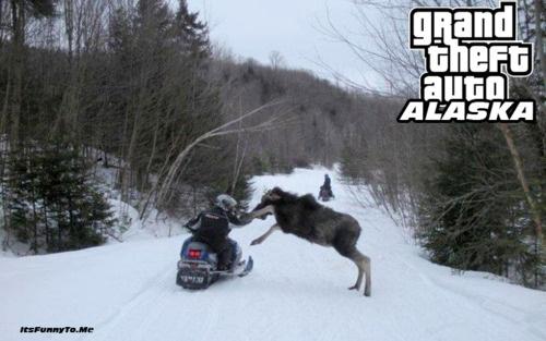 Grand Theft Auto Alaska