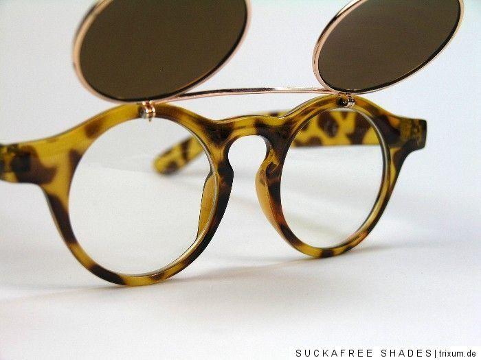 Retro Sonnenbrille 50er Jahre Vintage Keyhole Flip up Glasses Damen Herren Larp | eBay