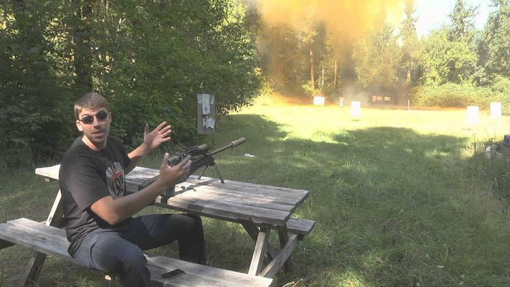 200LB TANNERITE EXPLOSION WITH L96!
