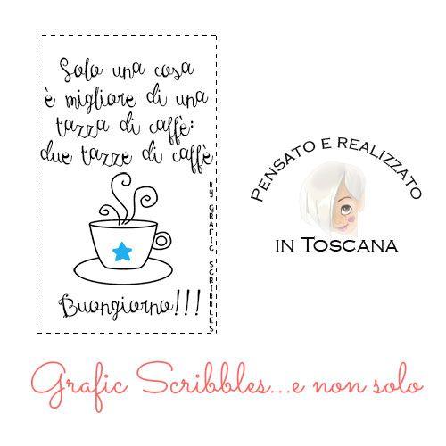 Solo una cosa è meglio di una tazza di caffè... sul post l'immagine prelevabile http://graficscribbles.blogspot.it/…/clipart-buongiorno.html #buongiorno #caffè