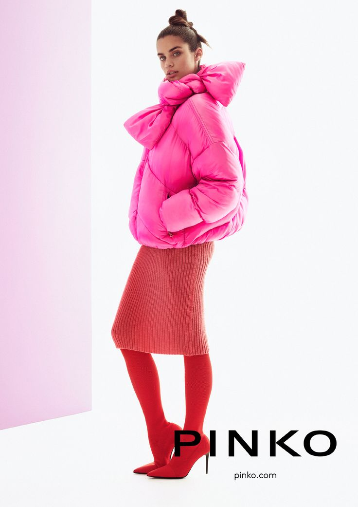 Sara Sampaio starring PINKO Fall Winter '17 Adv Campaign