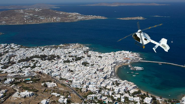 Fly over Mykonos: The Helicopter Tour. Read more...